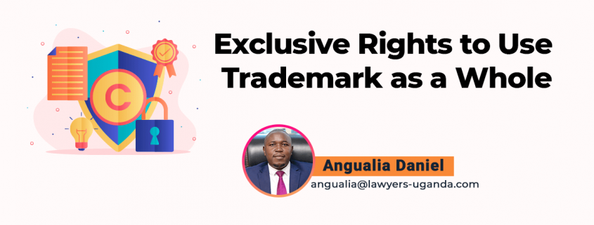 Exclusive Rights to Use Trademark as a Whole