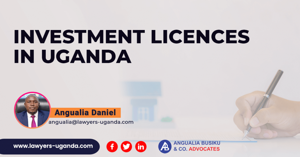 Investment Licences In Uganda
