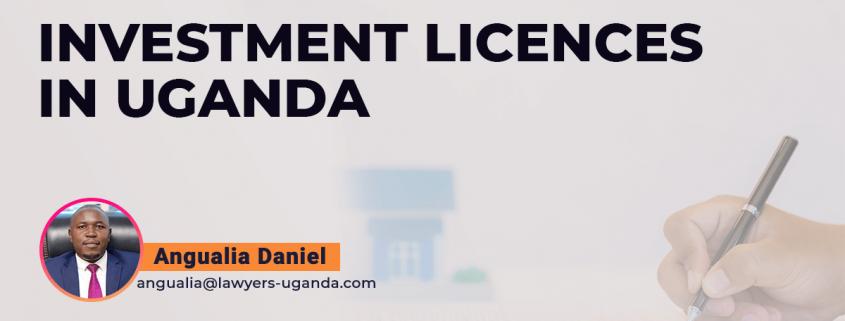 Investment Licences In Uganda