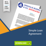 Simple Loan Agreement