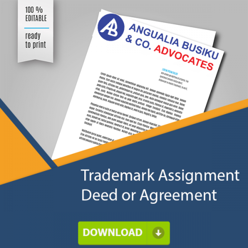 TRADEMARK ASSIGNMENT DEED OR AGREEMENT