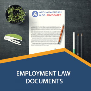 EMPLOYMENT LAW DOCUMENTS